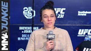 UFC 231: Joanna Jedrzejczyk full post-fight interview