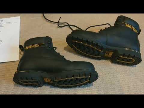 Boots Cat Holton SB work safety boots black