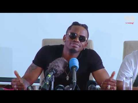 Diamond Platnumz- PRESS CONFERENCE NAIROBI ( CLIP 3)