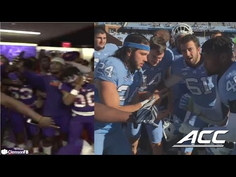 Clemson & UNC Mannequin Challenges Are Great, But Football Action Is Better