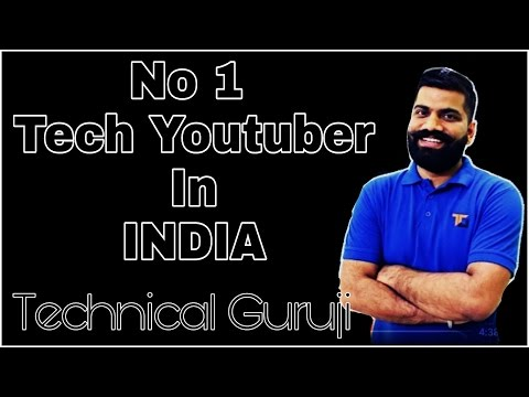 Who Is Technical Guruji ???