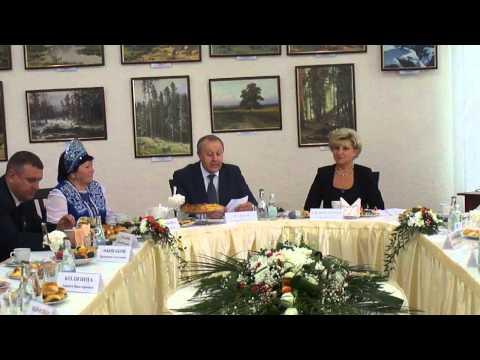 Поздравление губернатора в Энгельсе с Днем пожилого человека