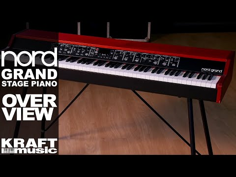 Nord Grand Stage Piano - Overview with Chris Martirano