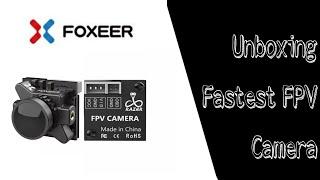 Unboxing Foxear Razer Micro, The Fastest FPV Camera.