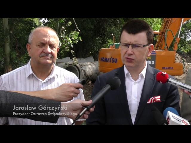 Ruszył remont ulicy Rzeczki w Ostrowcu Świętokrzyskim