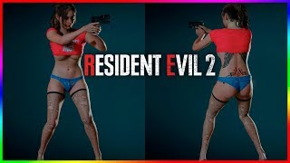 Resident Evil 2 Claire Redfield Wild Baby Mod