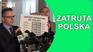 Import odpadów do Polski przekroczył już 400 tys. ton!