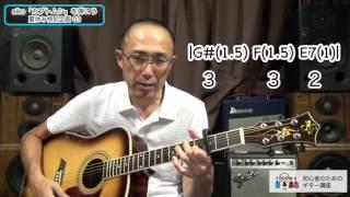 夏休み特別企画03 aiko「カブトムシ」を弾いてみよう 初心者のためのギター講座