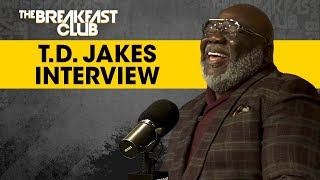 The Breakfast Club - T.D. Jakes Explains How To Deal With Grief, Coping With Kobe Bryant's Death + More