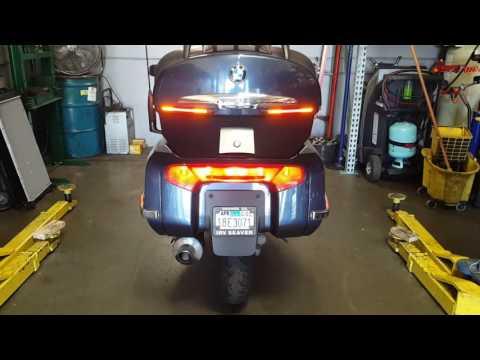Extra rear lights BMW K1200LT