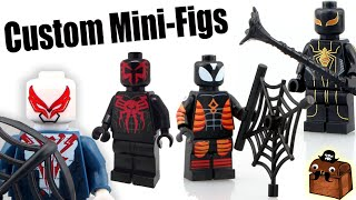 SpiderMan LEGO Custom Minifigures 2016