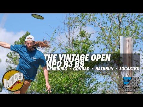 2021 Vintage Open | Final RD B9 | Heimburg, Conrad, Rathbun, Locastro | GKPRO Disc Golf