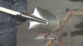 Производство лопат из рельсовой стали, процесс производства лопат из рельсовой стали