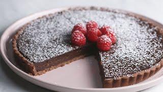Silkiest Chocolate Tart