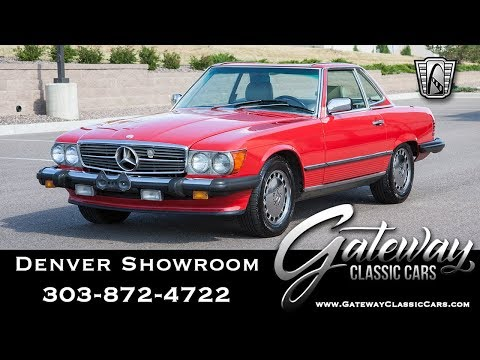 1989 Mercedes-Benz 560SL (CC-1340963) for sale in O'Fallon, Illinois