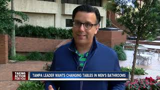 Tampa Council Member Pushing For Changing Tables In Mens Restroom