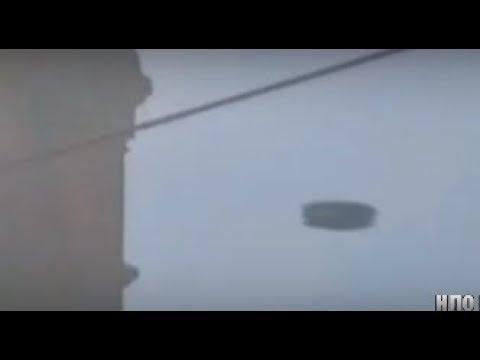 НЛО попало на видео!