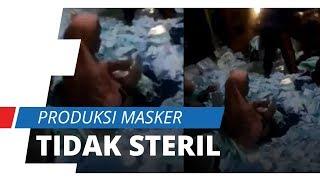 Viral Video Packing Masker Merek Solida Diinjak-injak dan Tidak Steril, Ini Bantahan Pihak Solida