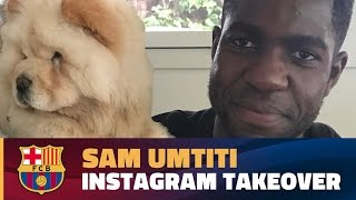 Instagram takeover - A day with Samuel Umtiti