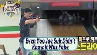 [Infinite Challenge W/ Kim Soo Hyun] Even Yoo Jae Suk Didn't Know It Was Fake 20170624