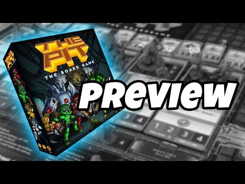 THE PIT THE BOARD GAME - Kickstarter Preview