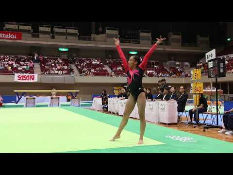 Emma Malabuyo, USA - Floor - 2017 International Junior Gymnastics Competition - Japan