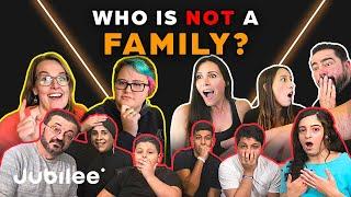 6 Families vs 1 Fake Family   Odd Man Out