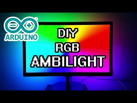 vTyoob - DIY Arduino Ambilight RGB WS2812b Full Build & How-To