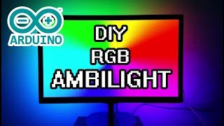 DIY Arduino Ambilight RGB WS2812b Full Build & How-To