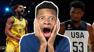 TEAM USA LOSES FOR FIRST TIME?!! USA vs AUSTRALIA HIGHLIGHTS