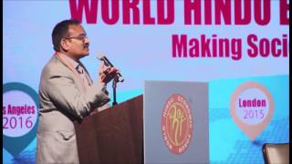 Session 1 Shri Rakesh Vaidyanathan at WHEF 2016@Los Angeles