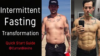 Intermittent Fasting Results (IF Crash Course) & Before/After