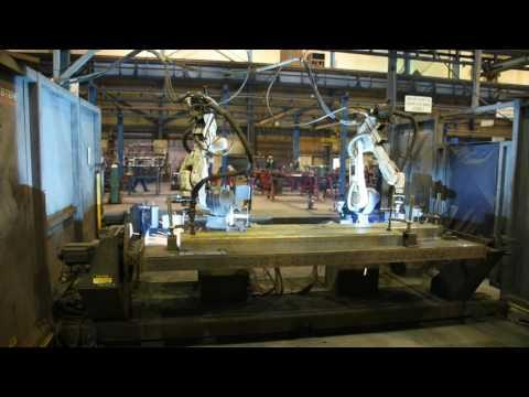panasonic vr006 dual robotic welding cell ya 1nar81 robot rh bidspotter com