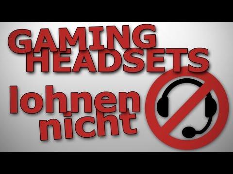 Gaming Headsets lohnen nicht | So gehts besser UND günstiger | Probleme, Surround, Rauschen, Mikro