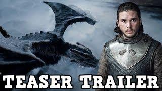 Game of Thrones Season 8 - Teaser Trailer Breakdown
