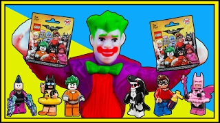 TREASURE HUNT #7! Joker finds Batman Lego Movie Blind Bags Limited Edition Ooshies @ OzToyReviews