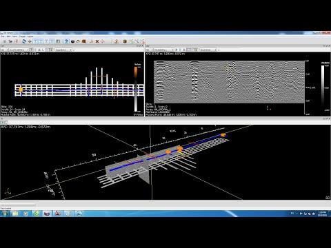 Thiết bị Georadar RIS MF Hi-Mod #2 bản đồ hóa đường ống & cáp ngầm tại Hà Nội