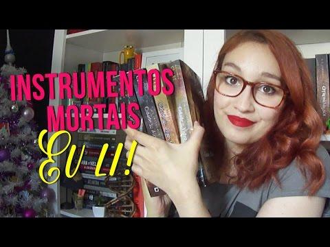 Instrumentos Mortais: Eu li! | Vlogmas #22 | Resenhando Sonhos