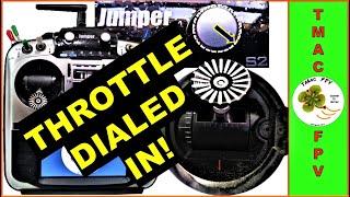 Jumper T16 OpenTX Throttle Control (DIALED IN!)
