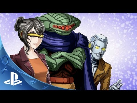Cosmic Star Heroine – E3 2016 Trailer | PS4, PS Vita thumbnail