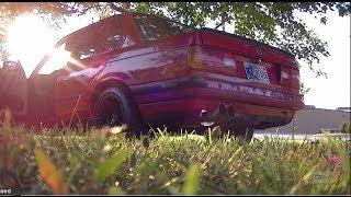 e30 m20 stroker bmw exhaust ebay car loud burnout - Free video