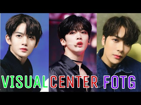 TOP 40 VISUAL | CENTER | FACE OF THE GROUP KPOP BOY GROUP