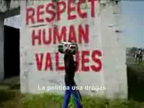 Politik Kills de Manu Chao con subtítulos en Español
