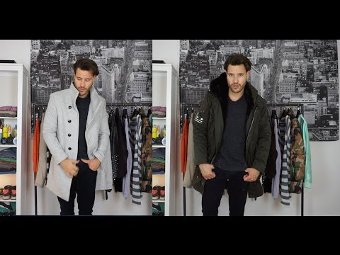 Winterjacken und Parka für Männer - Echt Pelz ja oder nein?