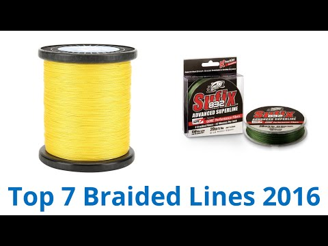 7 Best Braided Lines 2016