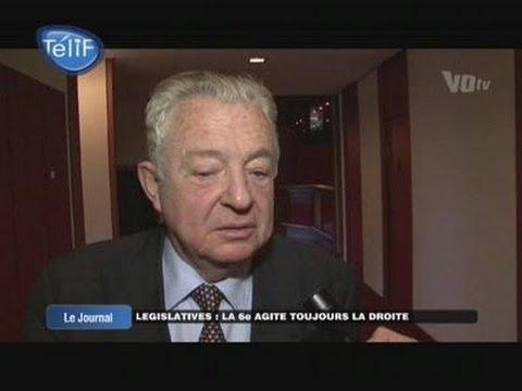 Législatives : François Scellier confiant (Val d'Oise)