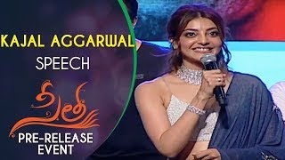 gratis download video - Kajal Aggarwal Speech @ Sita Movie Pre Release Event | Teja | Sai Srinivas Bellamkonda | Anup Rubens