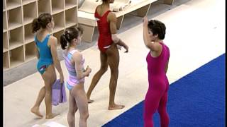 Mary Lou Retton Unedited Outtake at Karolyi's Gym 1992
