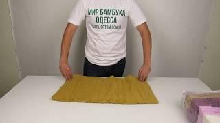 Махровое полотенце Purry, 50 х 90 см., 6 шт / уп. 880029 от компании МИР БАМБУКА ОПТ. Полотенце, халат, простынь оптом, Одесса, 7 км. - видео