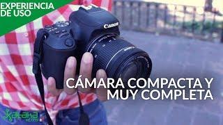 Canon SL2, EXPERIENCIA DE USO en ESPAÑOL: una cámara réflex básica con características profesionales